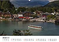 Reizvolle Gewässer im Berchtesgadener Land (Wandkalender 2019 DIN A2 quer) - Produktdetailbild 1