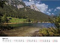 Reizvolle Gewässer im Berchtesgadener Land (Wandkalender 2019 DIN A2 quer) - Produktdetailbild 4