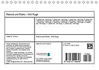 Rekord und Risiko - Willi Ruge (Tischkalender 2019 DIN A5 quer) - Produktdetailbild 13
