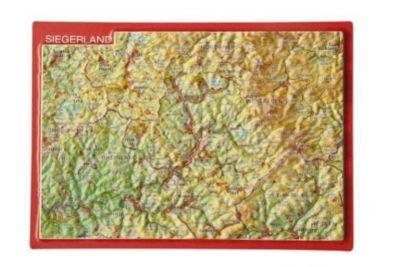 Reliefpostkarte Siegerland, André Markgraf, Mario Engelhardt