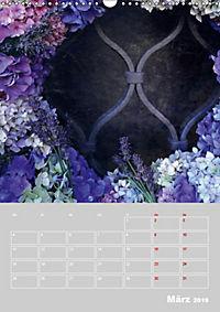 Renaissance der Hortensie (Wandkalender 2019 DIN A3 hoch) - Produktdetailbild 3