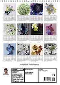 Renaissance der Hortensie (Wandkalender 2019 DIN A3 hoch) - Produktdetailbild 13