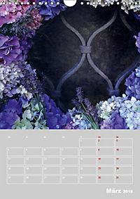 Renaissance der Hortensie (Wandkalender 2019 DIN A4 hoch) - Produktdetailbild 3