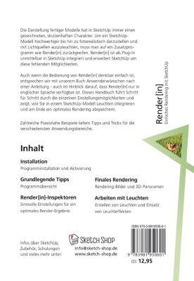 Render[in] - Einfaches Rendering mit SketchUp, Ebba Steffens, Holger Faust