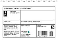 REO Roadster USA 1916 - in Schwarzweiss (Tischkalender 2019 DIN A5 quer) - Produktdetailbild 13