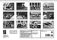 REO Roadster USA 1916 - in Schwarzweiss (Wandkalender 2019 DIN A3 quer) - Produktdetailbild 13