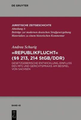 Republikflucht ( 213, 214 StGB/DDR), Andrea Schurig