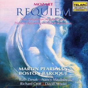 Requiem, Martin & Boston Baroque Pearlman