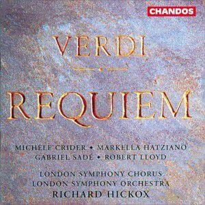 Requiem, Crider, Sade, Lloyd, Hickox, Lso