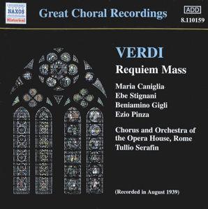 Requiem, Serafin, Caniglia, Stignani, Gigl
