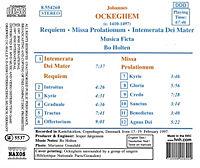 Requiem/Missa Prolationum/+ - Produktdetailbild 1