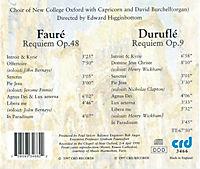 Requiem Op.48/Requiem Op.9 - Produktdetailbild 1