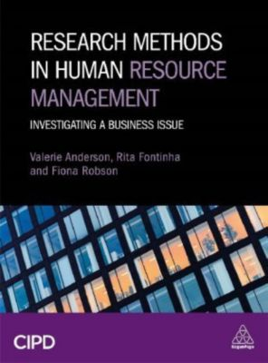 Research Methods in Human Resource Management, Valerie Anderson