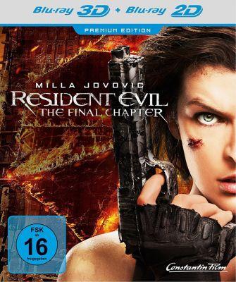 Resident Evil: The Final Chapter - 3D-Version, Ali Larter,Iain Glen,Shawn Roberts Milla Jovovich