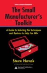 Resource Management: Small Manufacturer's Toolkit, Stephen Novak