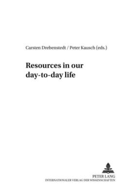 Resources in our day-to-day life