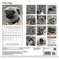 Retro Dogs (Wall Calendar 2019 300 × 300 mm Square) - Produktdetailbild 13