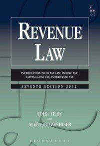 Revenue Law, John Tiley, Glen Loutzenhiser