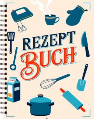 Rezeptbuch - Eintragbuch, noovio