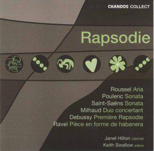 Rhapsodie F.klarinette U.klav., Hilton, Swallow