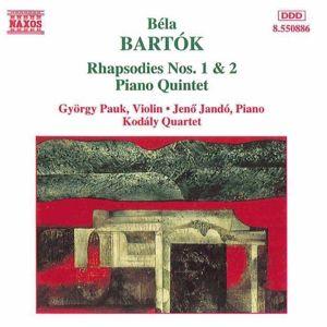 Rhapsodien 1+2/Andante/+, Pauk, Jando, Kodaly Quartet