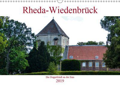 Rheda-Wiedenbrück - Die Doppelstadt an der Ems (Wandkalender 2019 DIN A3 quer), Boris Robert