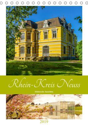 Rhein-Kreis Neuss - Malerische Ansichten (Tischkalender 2019 DIN A5 hoch), Bettina Hackstein