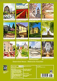 Rhein-Kreis Neuss - Malerische Ansichten (Wandkalender 2019 DIN A3 hoch) - Produktdetailbild 13