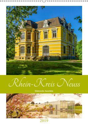 Rhein-Kreis Neuss - Malerische Ansichten (Wandkalender 2019 DIN A2 hoch), Bettina Hackstein