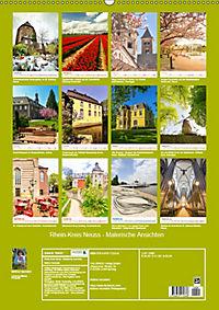 Rhein-Kreis Neuss - Malerische Ansichten (Wandkalender 2019 DIN A2 hoch) - Produktdetailbild 13