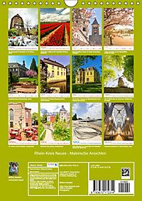 Rhein-Kreis Neuss - Malerische Ansichten (Wandkalender 2019 DIN A4 hoch) - Produktdetailbild 13