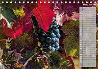 Rheingau - Spätburgunder Trauben (Tischkalender 2019 DIN A5 quer) - Produktdetailbild 3