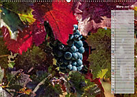 Rheingau - Spätburgunder Trauben (Wandkalender 2019 DIN A2 quer) - Produktdetailbild 3