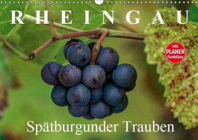 Rheingau - Spätburgunder Trauben (Wandkalender 2019 DIN A3 quer), Dieter Meyer
