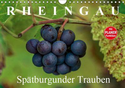 Rheingau - Spätburgunder Trauben (Wandkalender 2019 DIN A4 quer), Dieter Meyer