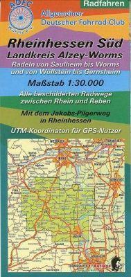 Rheinhessen Süd / Landkreis Alzey-Worms 1 : 30 000 Radfahren
