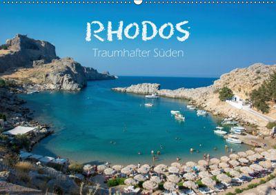 Rhodos - Traumhafter Süden (Wandkalender 2019 DIN A2 quer), Stefanie Kellmann