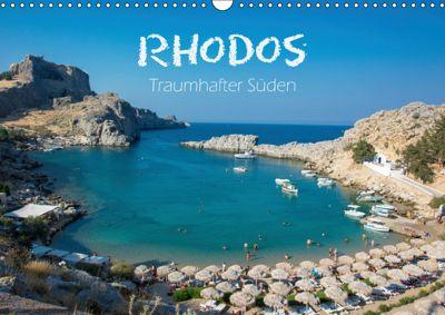 Rhodos - Traumhafter Süden (Wandkalender 2019 DIN A3 quer), Stefanie Kellmann