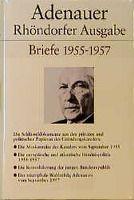 Rhöndorfer Ausgabe, Ln.: Briefe 1955-1957, Konrad Adenauer