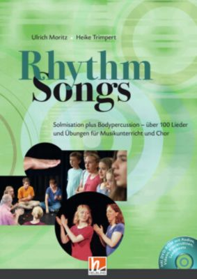 Rhythm Songs, m. DVD-ROM, Ulrich Moritz, Heike Trimpert