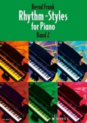 Rhythm-Styles for Piano, Bernd Frank