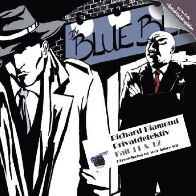 Richard Diamond Privatdetektiv, Audio-CDsFolge.11/12 Nachtclub-Fall / Walkers Problem, Audio-CD, Ivar Leon Menger
