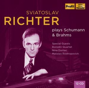 Richter Plays Brahms & Schumann, Svjatoslav Richter