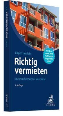 Richtig vermieten - Jürgen Herrlein |