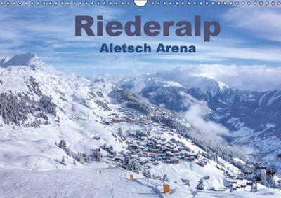 Riederalp - Altesch Arena (Wandkalender 2019 DIN A3 quer), Andreas Vogler