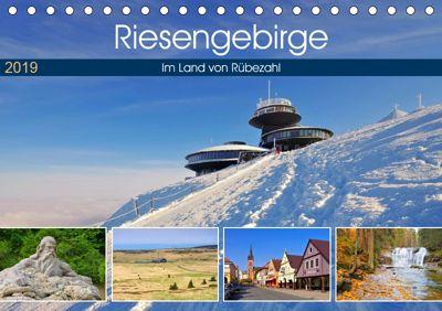 Riesengebirge - Im Land von Rübezahl (Tischkalender 2019 DIN A5 quer), LianeM