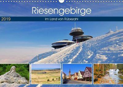 Riesengebirge - Im Land von Rübezahl (Wandkalender 2019 DIN A3 quer), k.A. LianeM