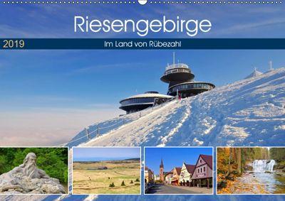 Riesengebirge - Im Land von Rübezahl (Wandkalender 2019 DIN A2 quer), LianeM