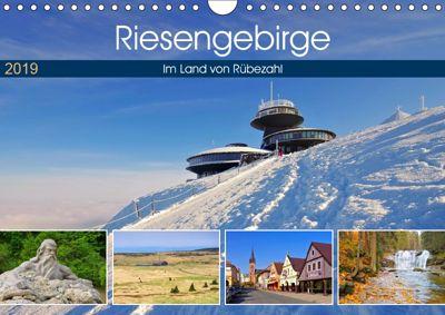 Riesengebirge - Im Land von Rübezahl (Wandkalender 2019 DIN A4 quer), LianeM