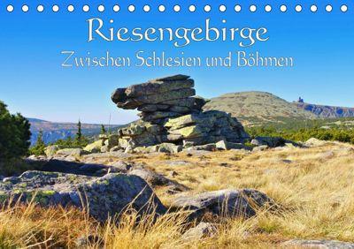 Riesengebirge - Zwischen Schlesien und Böhmen (Tischkalender 2019 DIN A5 quer), LianeM
